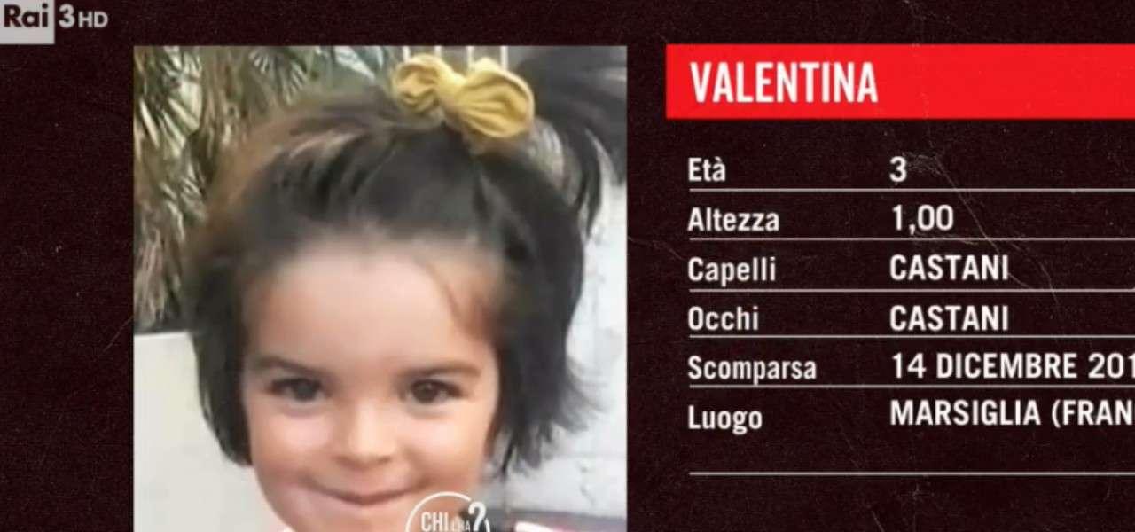 valentina bambina scomparsa 2020 raiplay