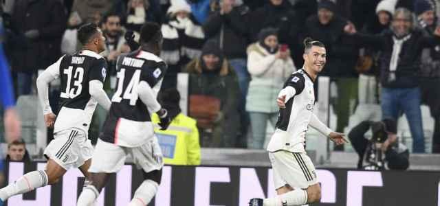 Ronaldo Matuidi Danilo Juventus gol lapresse 2020 640x300