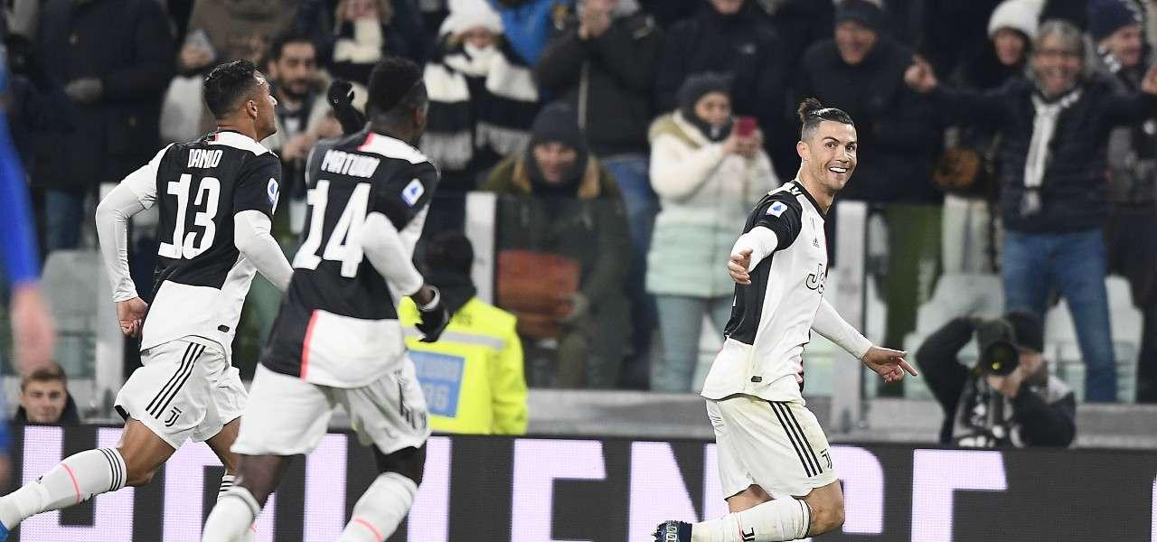 Ronaldo Matuidi Danilo Juventus gol lapresse 2020