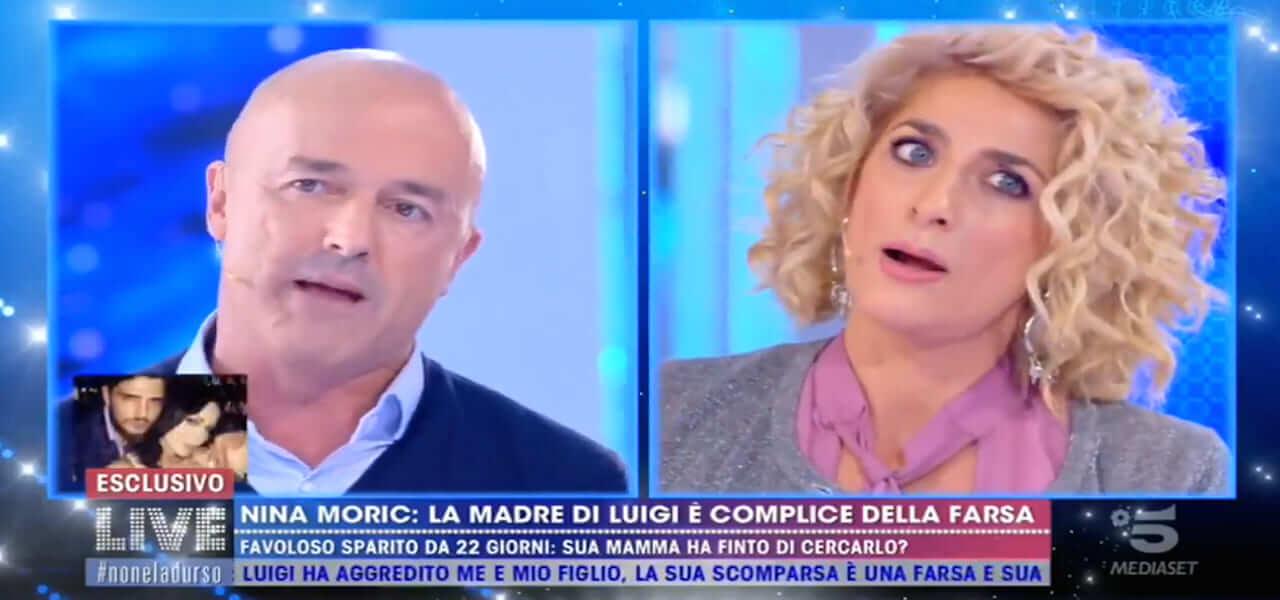 Loredana, mamma Luigi Favoloso contro Gianluigi Nuzzi
