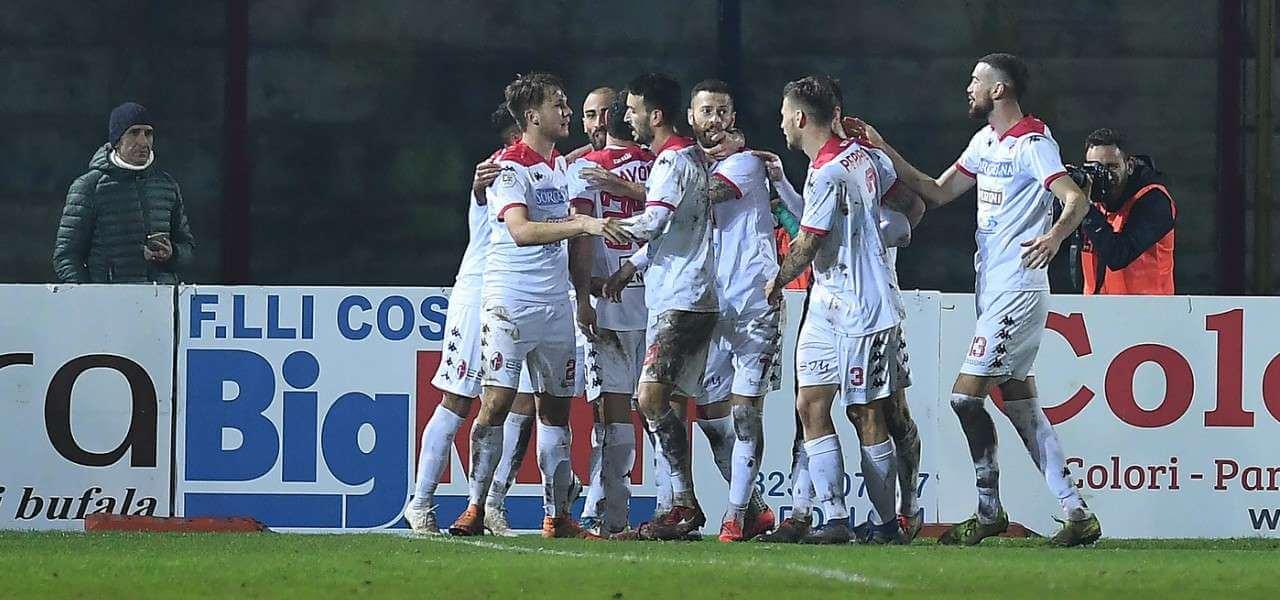Bari gruppo gol Serie C lapresse 2020