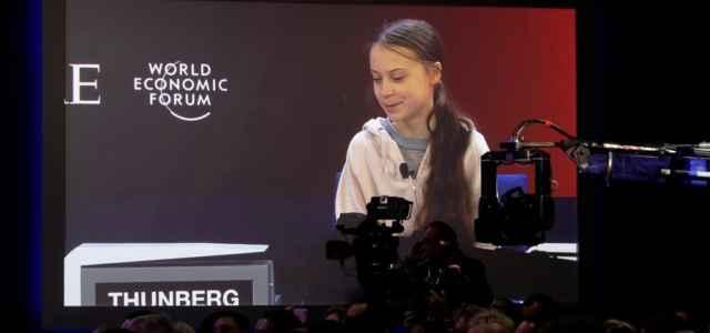 Greta a Davos