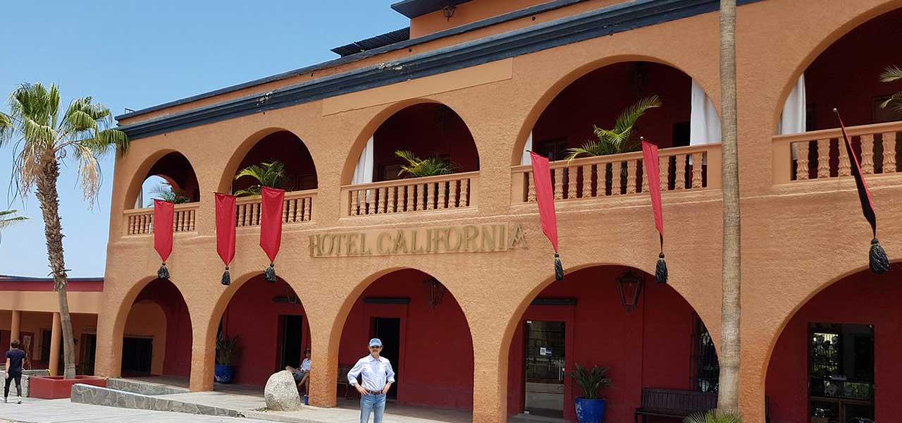 L'Hotel California in Messico