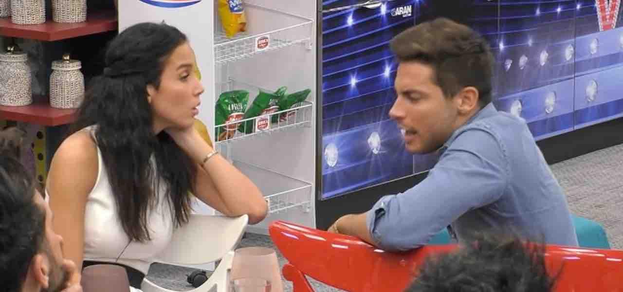 Paola Di Benedetto e Andrea Denver al GF VIP 4