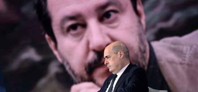 Salvini e Zingaretti