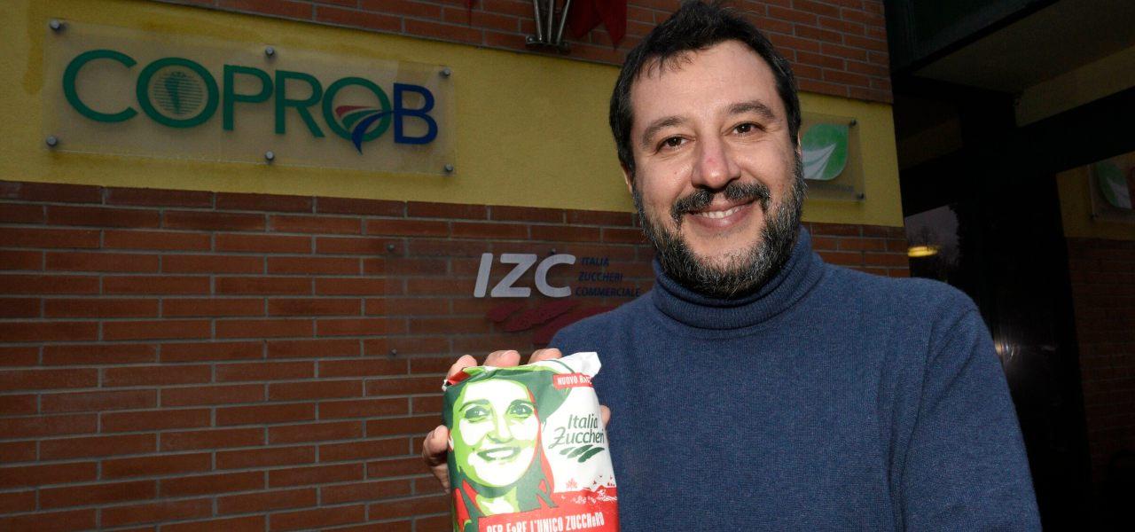 Salvini a Minerbio