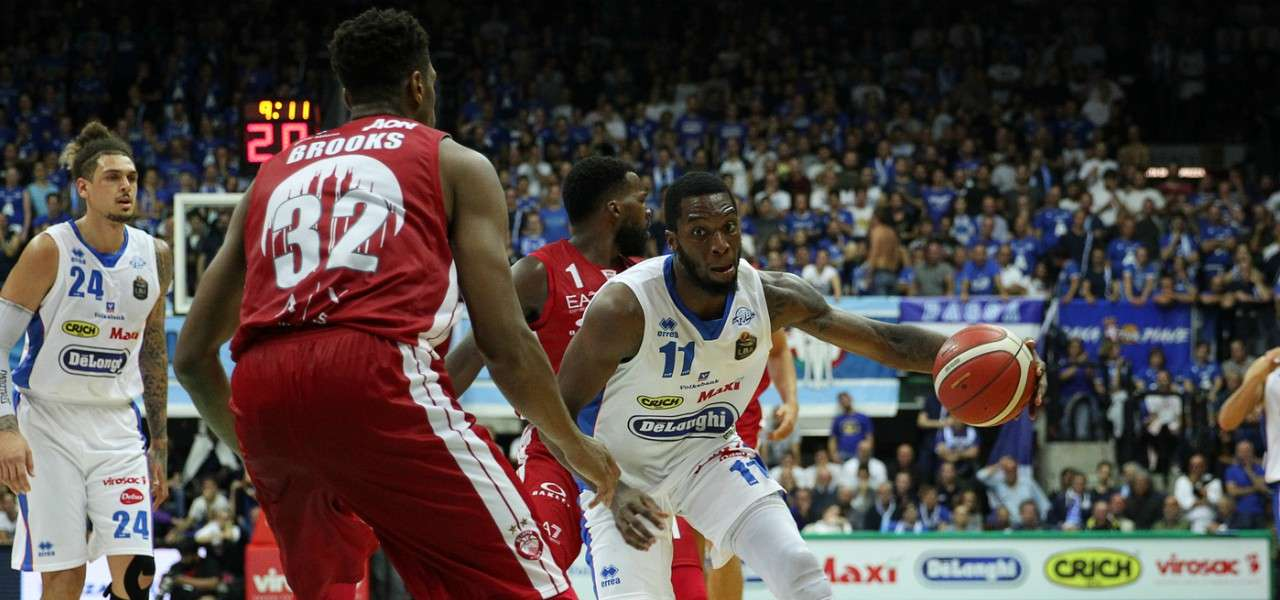 Parks Brooks Treviso Milano basket lapresse 2020