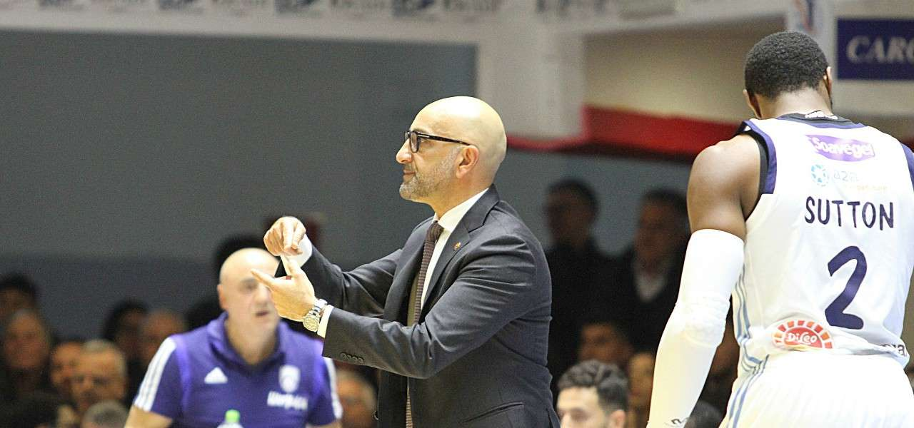 Vitucci Sutton Brindisi basket lapresse 2020