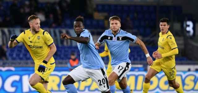 Caicedo Immobile Rrahmani Pessina Lazio Verona lapresse 2020 640x300