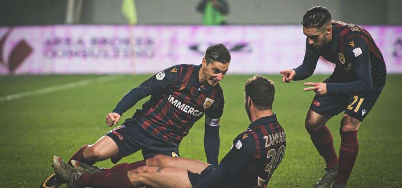 Zamparo Spano Radrezza Reggio Audace gol facebook 2020