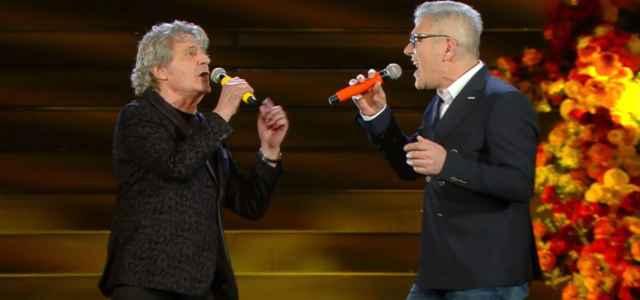 Michele Zarrillo e Fausto Leali a Sanremo 70