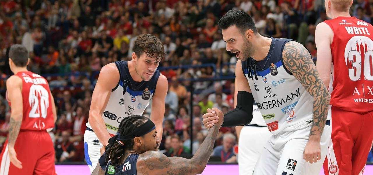 Laquintana Moss Sacchetti Brescia basket lapresse 2020