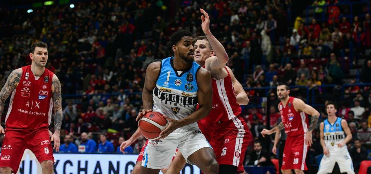 Saunders Nedovic Milano Cremona basket lapresse 2020
