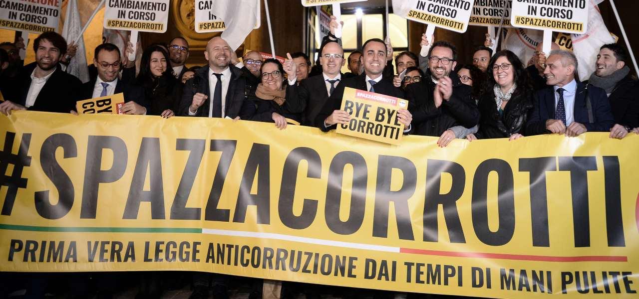 Legge Spazzacorrotti