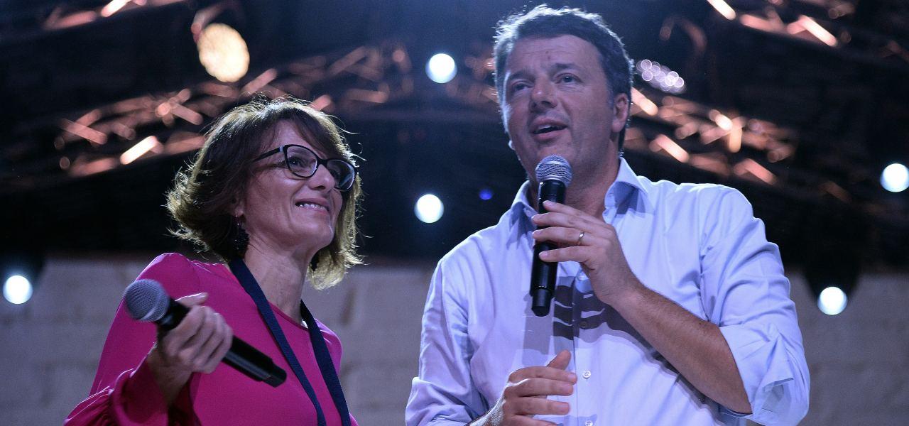 Matteo Renzi e Elena Bonetti