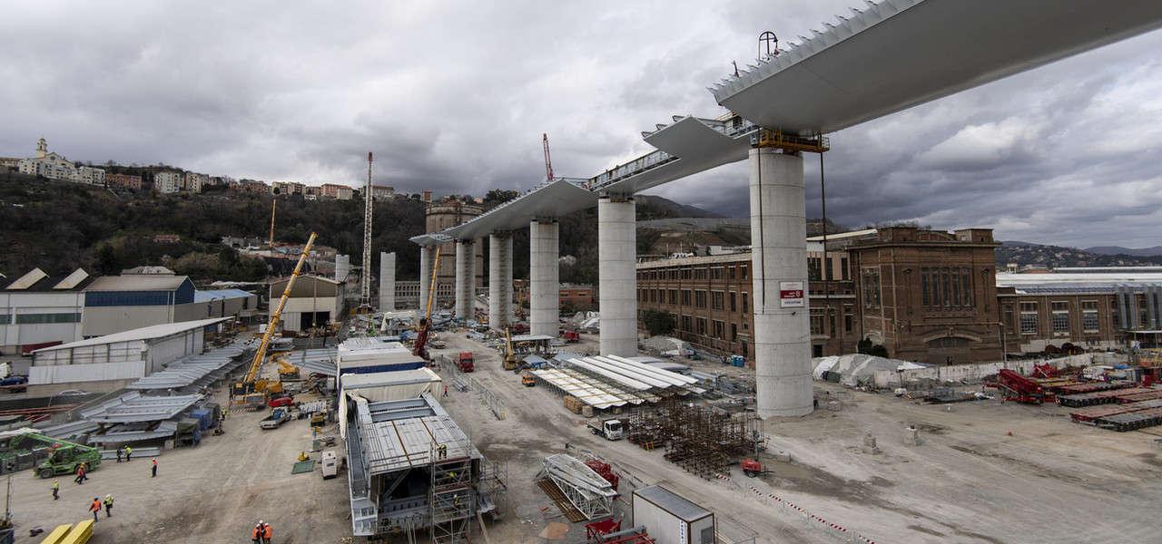 Genova ponte polcevera cantiere Lapresse1280