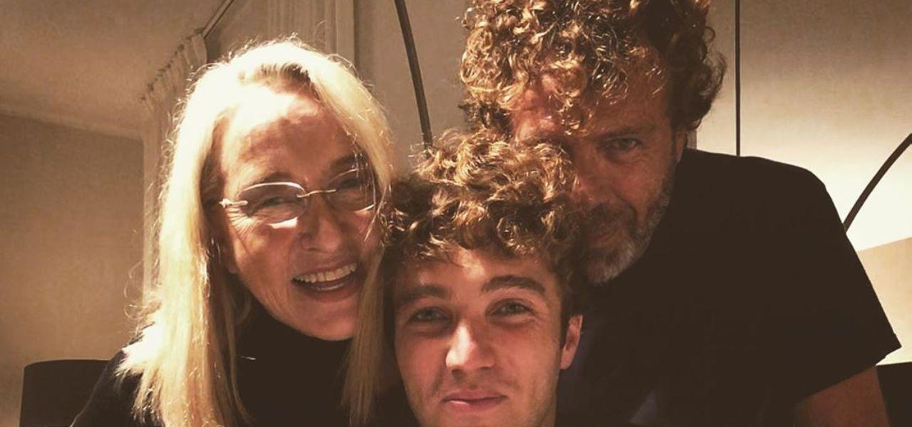 Massimo Ciavarro col figlio Paolo