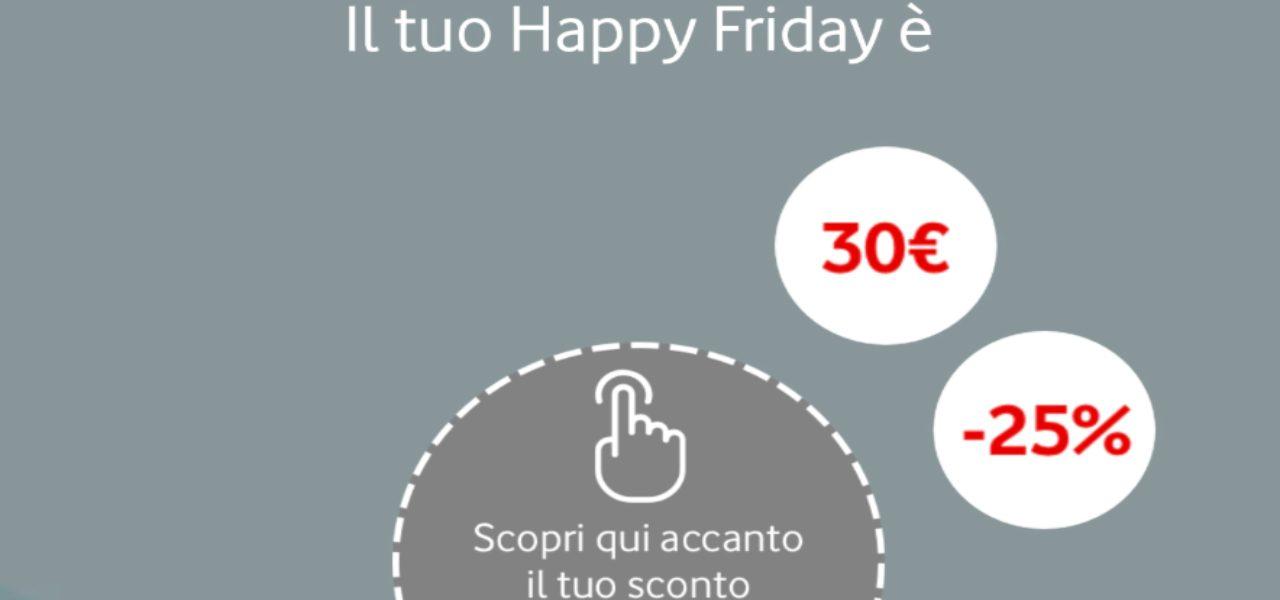 Adidas con Vodafone Happy Friday/ Buono di 30 euro o 25% di ...