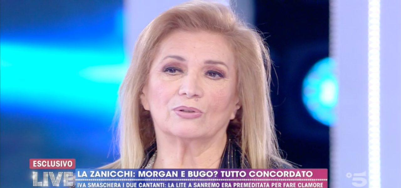 Iva Zanicchi a Live - Non è la D'Urso