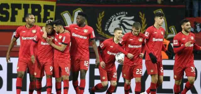 Bayer Leverkusen gruppo gol lapresse 2020 640x300