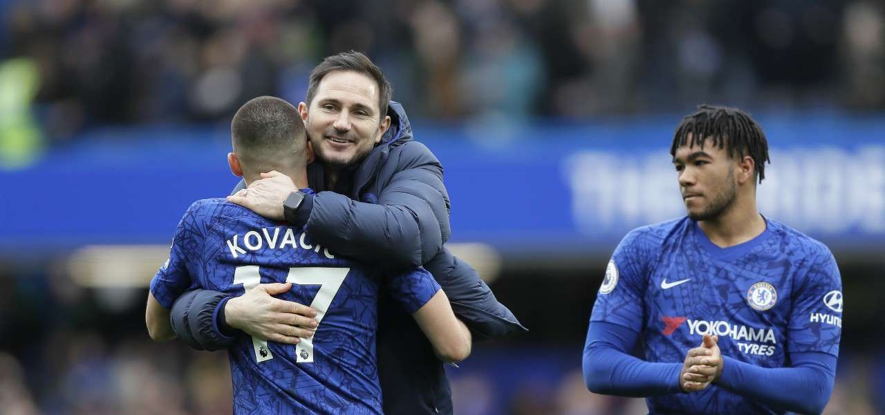 Lampard Kovacic James Chelsea lapresse 2020