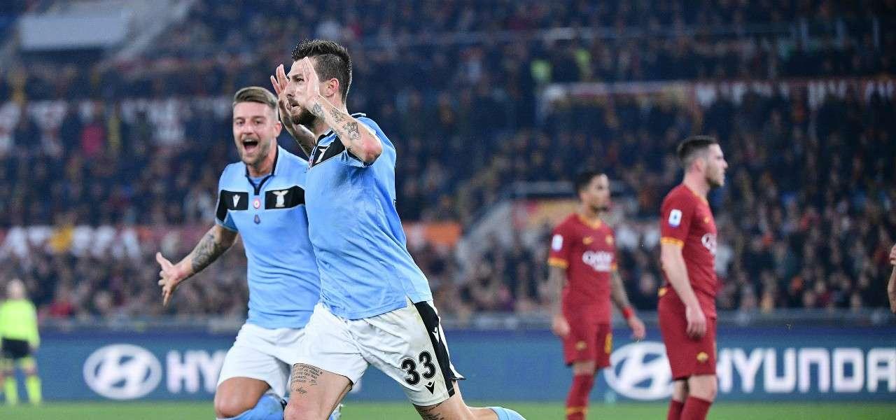 Acerbi Lazio gol lapresse 2020
