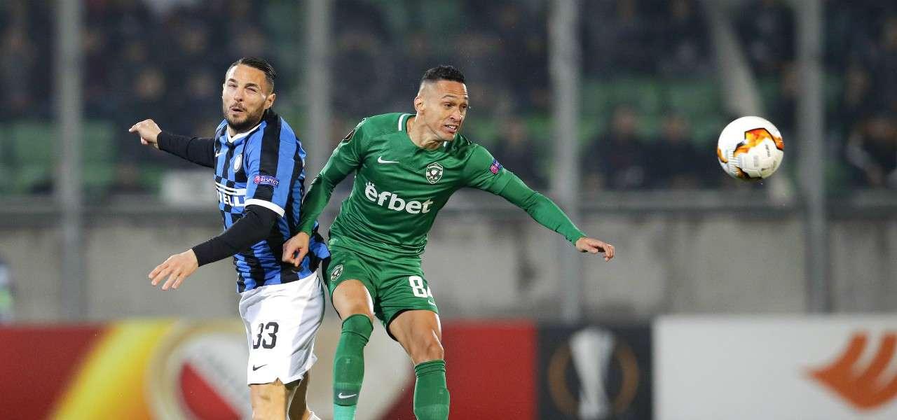 Dambrosio Marcelinho Inter Ludogorets lapresse 2020