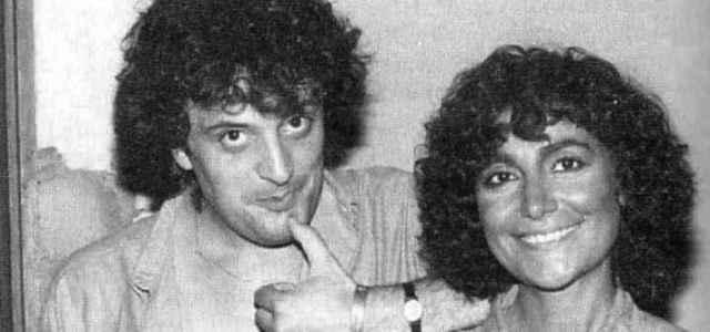 Ivano Fossati e Mia Martini in una foto d'epoca
