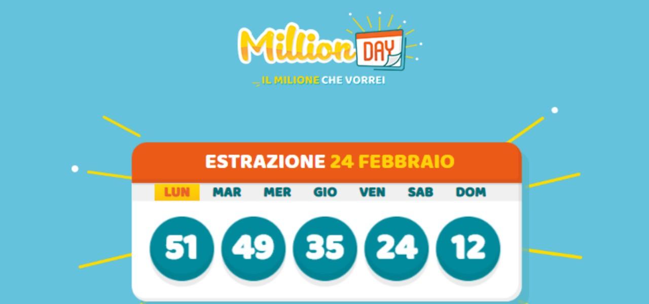 million day 24 febbraio 2020