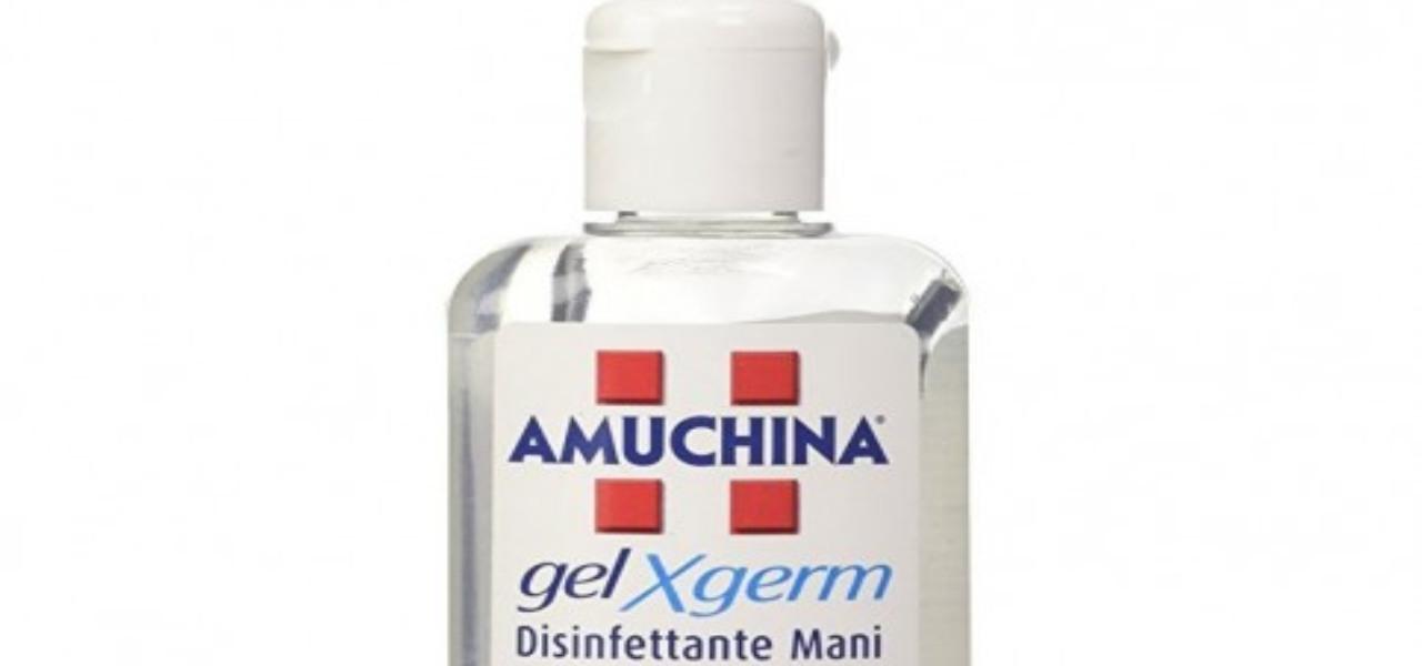 amuchina gel disinfettante