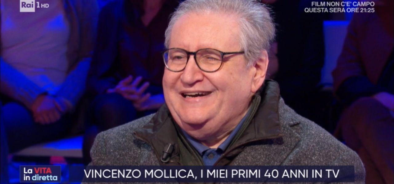 Vincenzo Mollica a La Vita in Diretta