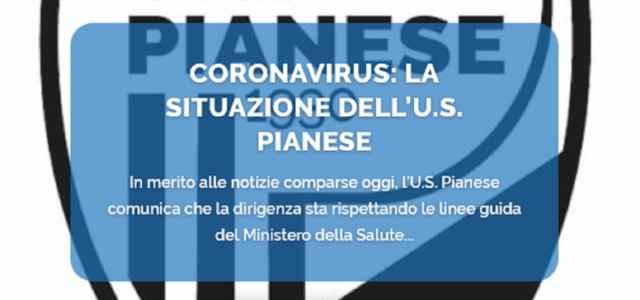 coronavirus pianese