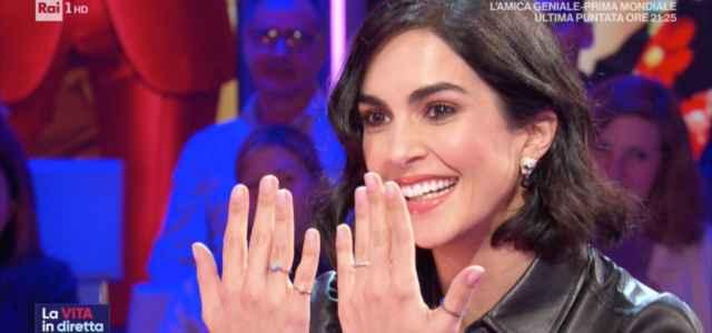 """Rocio Munoz Morales a """"La Vita in Diretta"""""""