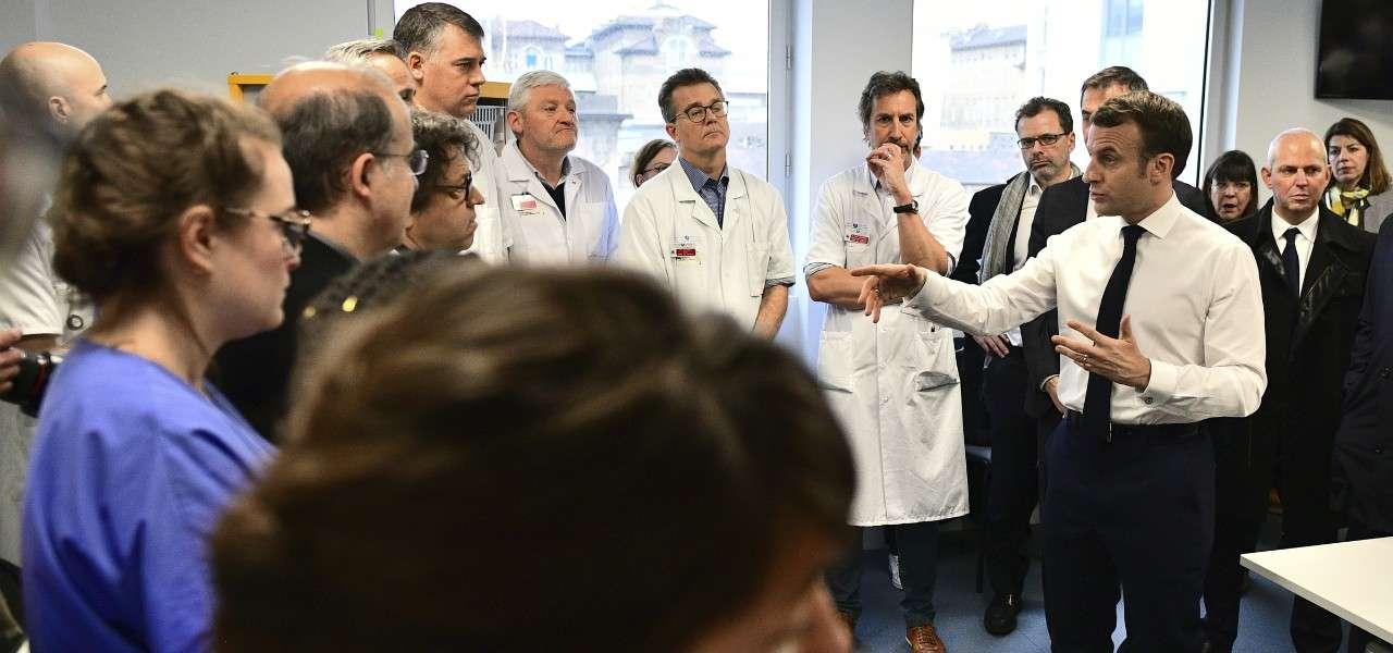 macron coronavirus francia 2020 lapresse