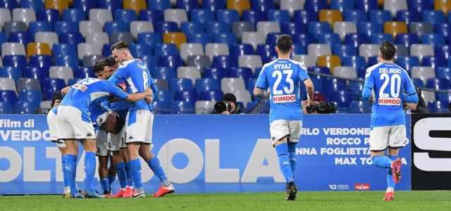 Napoli esultanza gol lapresse 2020 640x300