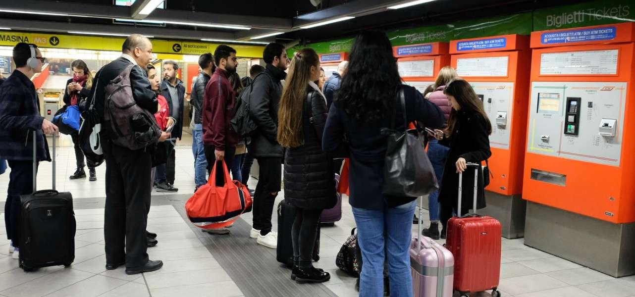 Atm metropolitana Milano