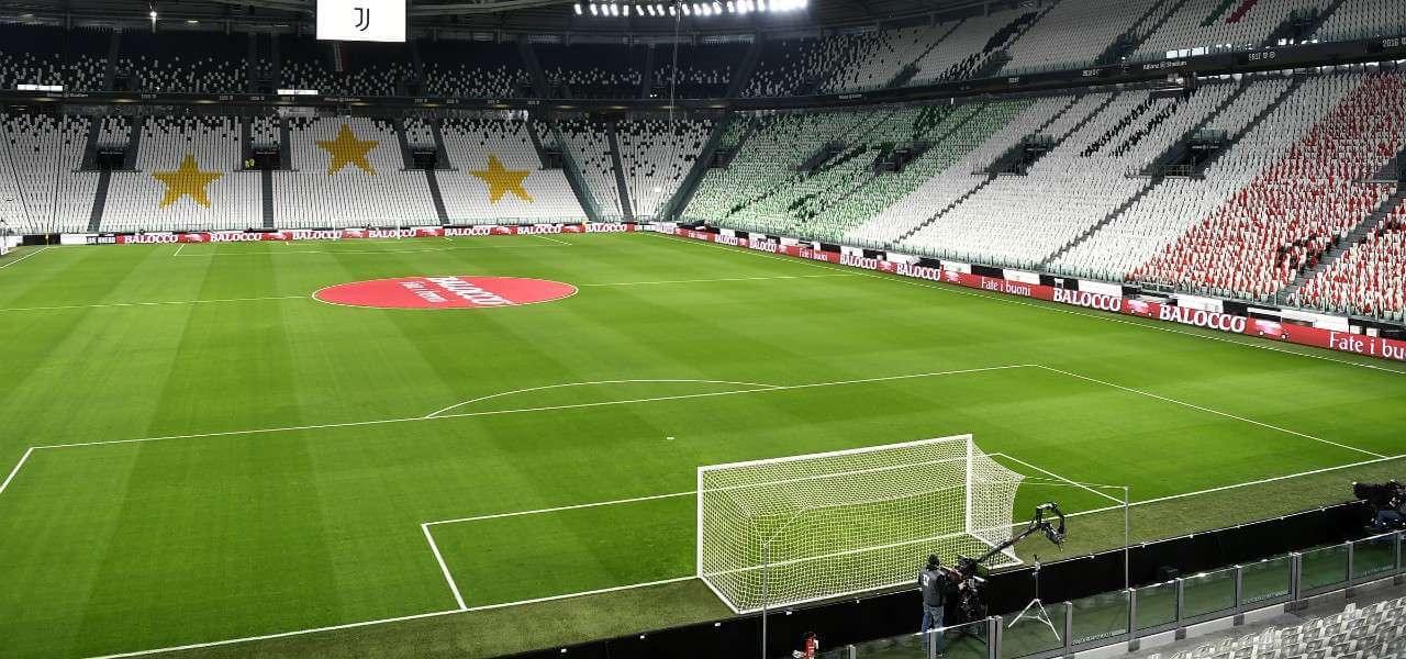 Allianz Stadium vuoto lapresse 2020