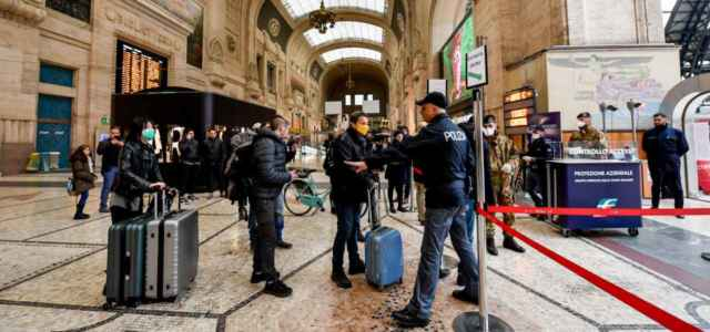 Controlli stazione centrale Milano
