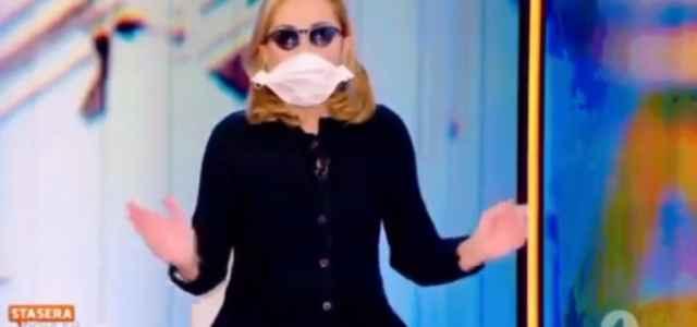 Barbara Palombelli mascherina stasera italia 640x300