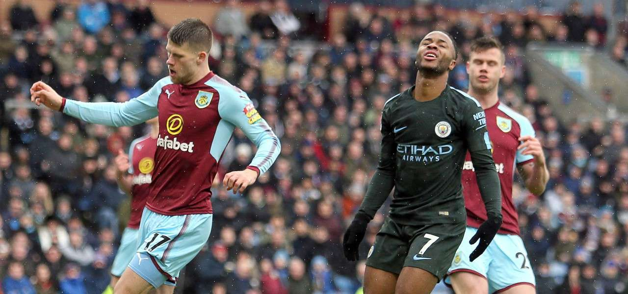Sterling Manchester City Burnley lapresse 2020