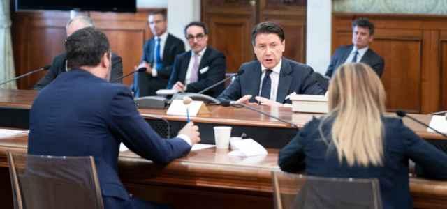 Conte, Salvini e Meloni