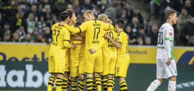 Borussia Dortmund gol gruppo Bundesliga lapresse 2020 640x300