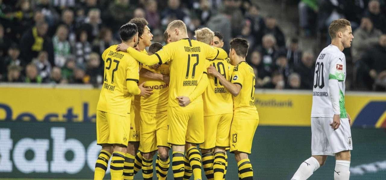 Borussia Dortmund gol gruppo Bundesliga lapresse 2020