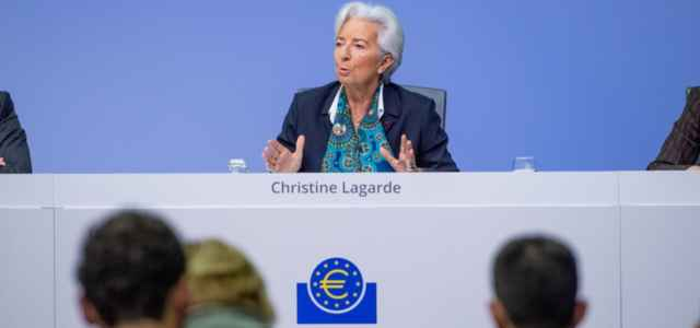 Christine Lagarde, Presidente Bce