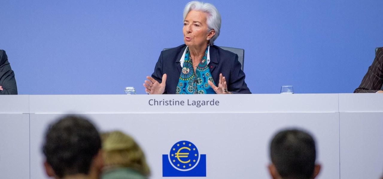 Christine Lagarde, Presidente Bce
