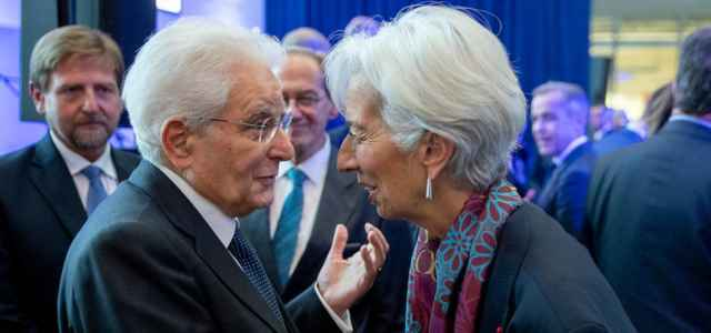 Mattarella e Lagarde