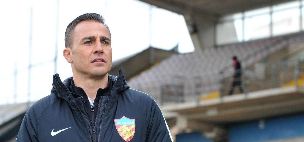 Fabio Cannavaro allenatore lapresse 2020