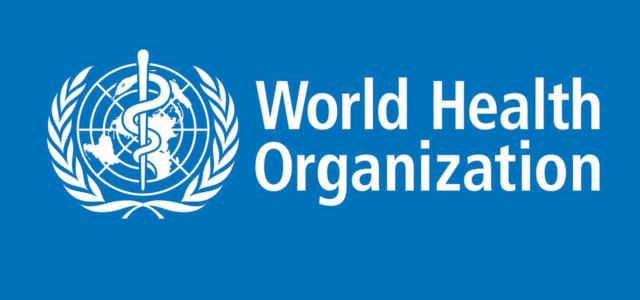 Il logo dell'OMS, Organizzazione Mondiale della Sanità