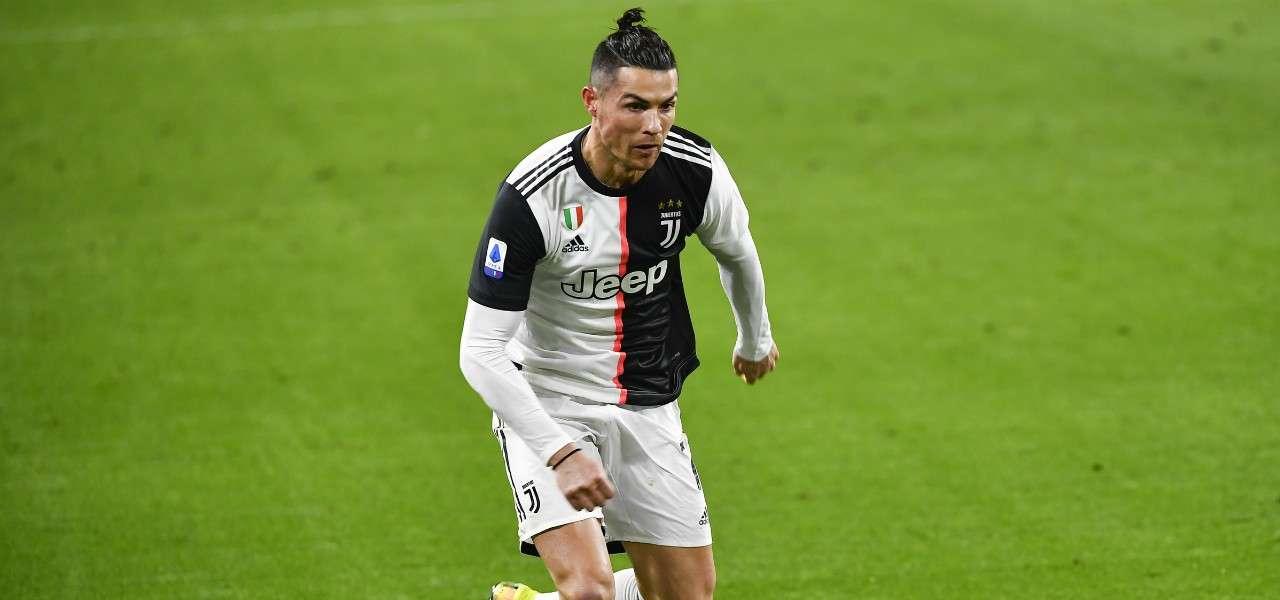 Cristiano Ronaldo Juventus codino lapresse 2020