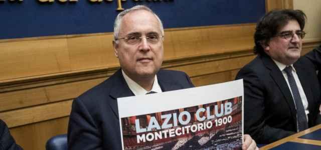 Claudio Lotito Montecitorio lapresse 2020 640x300